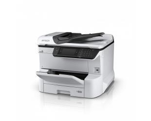 Rašalinis daugiafunkcinis spausdintuvas Epson WF-C8610DWF Colour, Inkjet, All-in-One, A3, Wi-Fi, Grey/Black