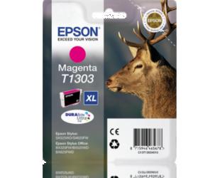 Rašalo kasetė Epson DURABrite Ultra T1303 Cartrigde, Magenta