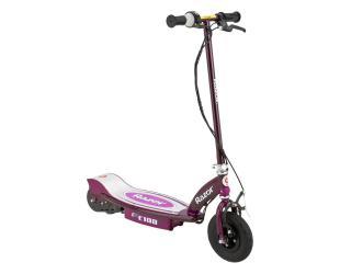 Elektrinis paspirtukas Razor E100, violetinės spalvos