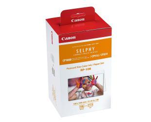 Rašalo kasetė Canon Color/Paper Set for SELPHY CP1300 Printer RP-108