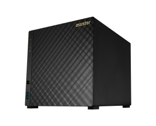 Diskų masyvas Asus Asustor Tower NAS AS1004T v2 up to 4 HDD, Marvell, ARMADA-385, Processor frequency 1.6 GHz, 0.512 GB