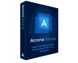 Licencija Acronis Backup 12.5 Advanced Workstation  incl. AAS ESD