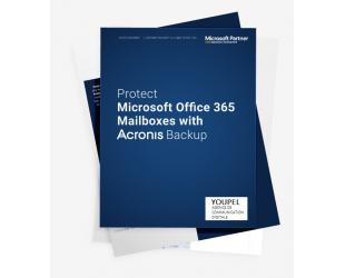Licencija Acronis 1 year(s),  Backup Standard Office 365 Subscription  25 Mailboxes