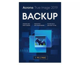Duomenų atsarginės kopijos programa Acronis  True Image 2019