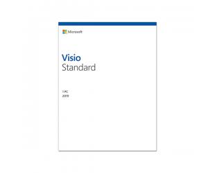 Programinė įranga Microsoft D86-05822 Visio Std 2019