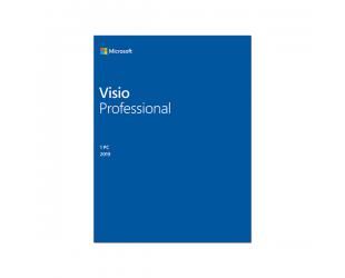 Programinė įranga Microsoft D87-07425 Visio Pro 2019