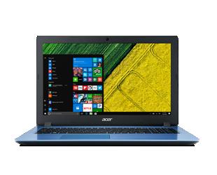 """Nešiojamas kompiuteris Acer Aspire 3 A315-53 Blue 15.6"""" FHD i3-7020U 6GB Windows 10"""