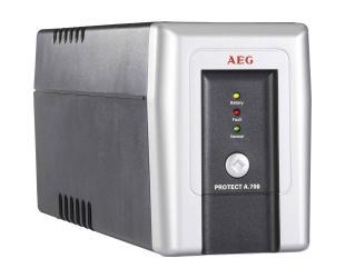 Nepertraukiamo maitinimo šaltinis AEG UPS UPS Protect A 700 700VA, 420W, 170 - 280  V