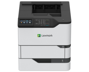 Lazerinis spausdintuvas Lexmark Printer MS826de Mono, Monochrome Laser, A4, Grey/ black