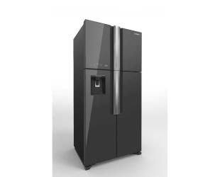 Šaldytuvas Hitachi R-W660PRU7 (GGR) Glass Grey