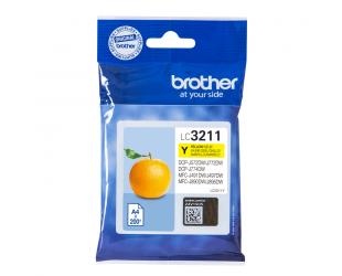 Rašalo kasetė Brother LC3211Y Inkjet cartridge, Yellow