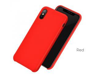 Dėklas Hoco Pure series for iPhoneX/XS Raudona