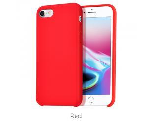 Dėklas Hoco Pure series for iPhone7 Plus/8 Plus Raudona