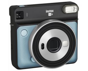 Momentinis fotoaparatas Fujifilm Instax Square SQ6 Instant + Square glossy popierius (10 vnt) Aqua Blue