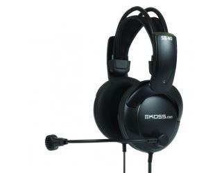 Ausinės Koss SB40 apgaubiančios ausis, su mikrofonu