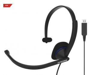 Ausinės Koss CS195 USB apgaubiančios ausis, su mikrofonu