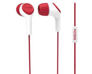 Ausinės Koss KEB15iR įstatomos į ausis, su mikrofonu