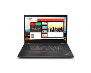 "Nešiojamas kompiuteris Lenovo ThinkPad T580 Black 15.6"" IPS UHD i7-8550U 16GB GeForce MX150 2GB Windows 10 Pro"