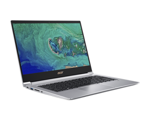 "Nešiojamas kompiuteris Acer Swift 3 SF314-55 Silver 14"" IPS FHD i3-8145U 4GB Windows 10"