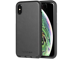 Dėklas Tech21 Evo Luxe T21-6176, Apple, iPhone X/Xs, Leather, Juoda