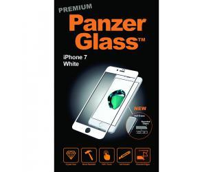 Ekrano apsauga PanzerGlass Premium 2007 Apple, iPhone 7/8, grūdintas stiklas, skaidrus/Balta
