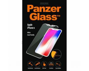 Ekrano apsauga PanzerGlass 2626 Casefriendly Apple, iPhone X/Xs, grūdintas stiklas, skaidrus/Balta