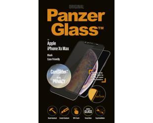 Ekrano apsauga PanzerGlass iPhoneXs Max Privatumo filtras CF Juoda