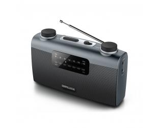 Radijo imtuvas Muse M-058R Black, AUX in