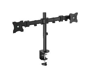 """Laikiklis Logilink BP0022 Dual Monitor Desk mount, 13""""-27"""", arm 428mm"""
