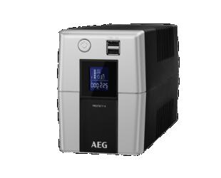 Nepertraukiamo maitinimo šaltinis AEG UPS UPS Protect A 1200 LCD 1200VA, 720W, 170 - 280 V