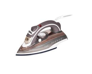 Lygintuvas Adler Iron AD 5030 Steam Iron, 3000 W, Water tank capacity 310 ml, Continuous steam 20 g/min, Brown