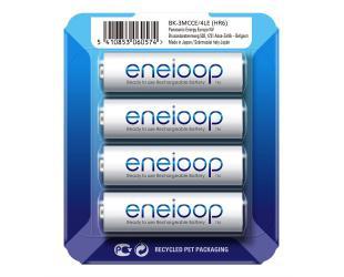 Baterijos Panasonic Eneloop AA/HR6, 1900 mAh, įkraunamos Ni-MH, 4 vnt