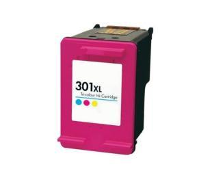 Rašalo kasetė Static Control Analog Hewlett-Packard 301 XL (CH564EE), Multicolour