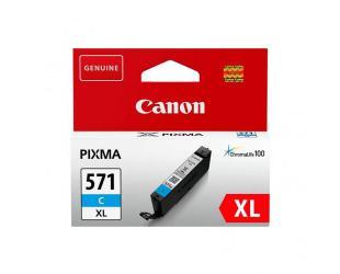 Rašalo kasetė Print4you Analog Canon CLI-571CXL , Cyan