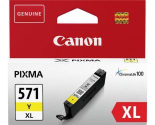 Rašalo kasetė Print4you Analog Canon CLI-571YXL, Yellow