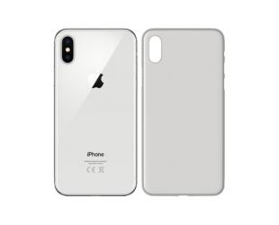Dėklas 3MK Apple, iPhone XS, Polypropylene, Skaidrus Balta