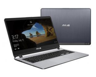 """Nešiojamas kompiuteris Asus VivoBook X507UA-EJ894T Grey 15.6"""" FHD 4417U 4GB 128GB SSD Windows 10"""
