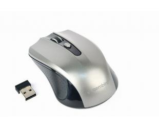 Pelė Gembird Mouse MUSW-4B-04-BG Standard, No, Black/ Space Grey, Wireless, No, Wireless connection