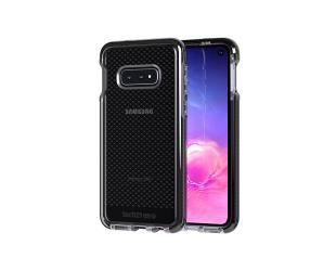 Dėklas TASSO Tech21 Evo Check T21-6898, Samsung, Galaxy S10e, Smokey Juoda