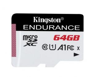 Atminties kortelė Kingston Endurance UHS-I U1 64GB Micro SDXC CL10