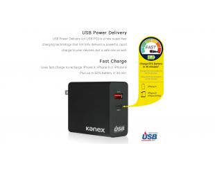 Įkroviklis Kanex GoPower 50W USB-C with Power Delivery K160-1264