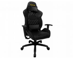 Žaidimų kėdė Gamdias, ZELUS E1 L B, juodos sp.