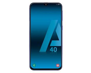 "Išmanusis telefonas Samsung Galaxy A40 Black 5.9"" 64 GB Dual SIM"