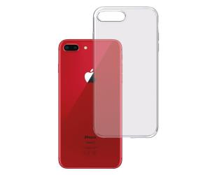 Dėklas 3MK Clear, Apple, iPhone 7 Plus/8 Plus, TPU, Skaidrus