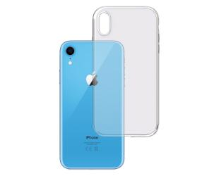 Dėklas 3MK Clear, Apple, iPhone XR, TPU, Skaidrus
