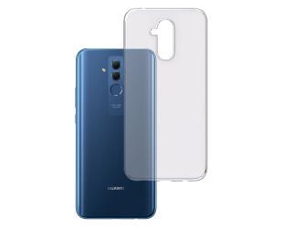 Dėklas 3MK Clear, Huawei, Mate 20 Lite, TPU, Skaidrus