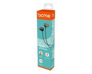 Ausinės ACME HE21 įstatomos į ausis, su mikrofonu