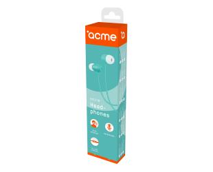 Ausinės ACME HE21B įstatomos į ausis, su mikrofonu