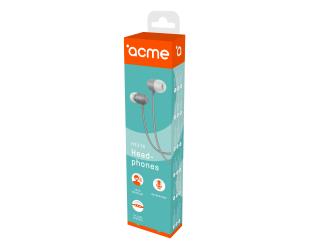 Ausinės ACME HE21G įstatomos į ausis, su mikrofonu