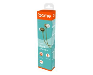 Ausinės ACME HE21K įstatomos į ausis, su mikrofonu